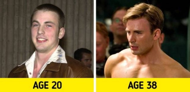 Celebrity Photos: Then And Now