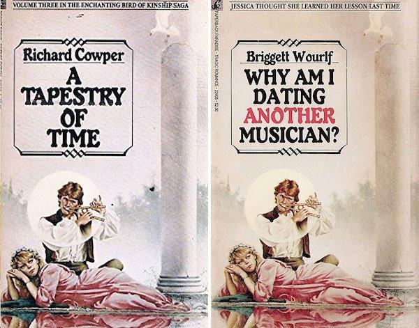 Retro Paperback Books Got Some Name Renovations