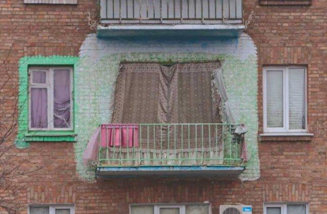 Weird Balconies