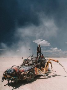 'Burning Man' Festival Vehicles