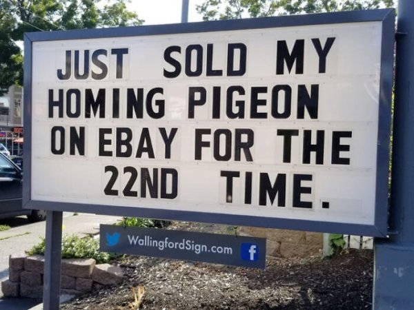 Funny Gas Station Signs