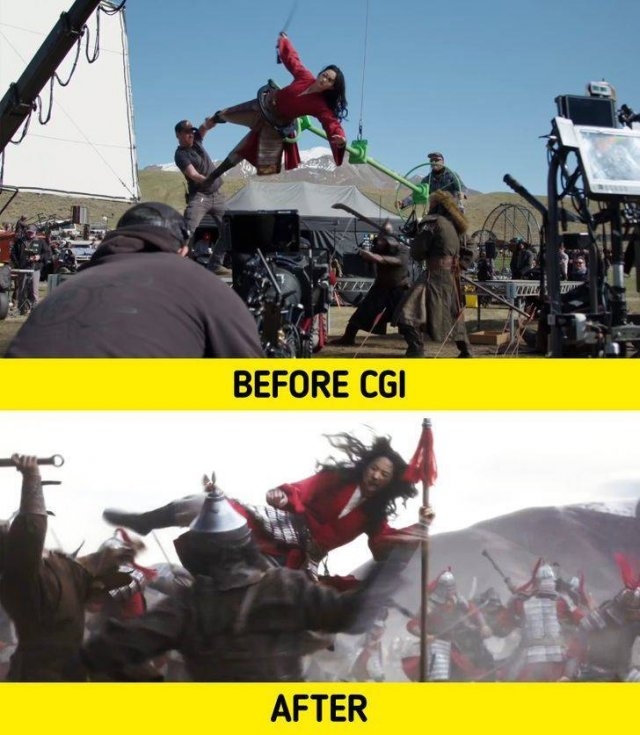 Behind The Scenes Of Popular Movies, part 4