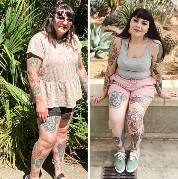 People Show Off Their Transformations, part 10