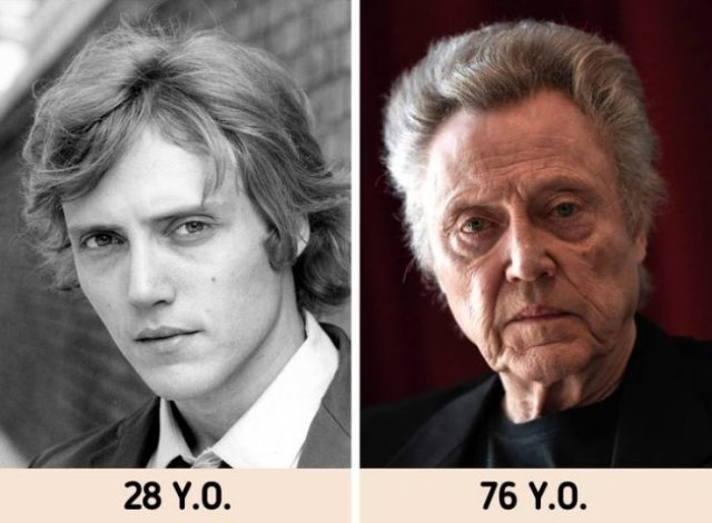 Celebrity Photos: In Their Youth And Now