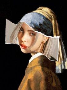 Classic Paintings And Modern Art Mashups
