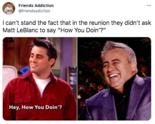 'Friends' Reunion Humor