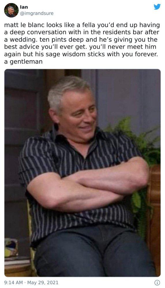 Matt LeBlanc Humor