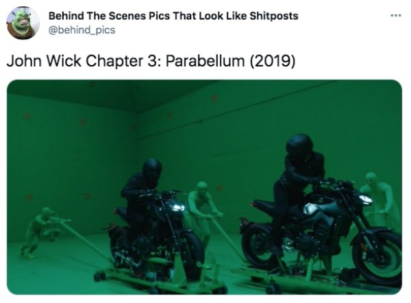 Behind-The-Scenes Photos Of Popular Movies