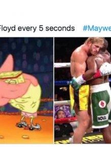 Logan Paul Vs. Floyd Mayweather Fight Memes And Tweets