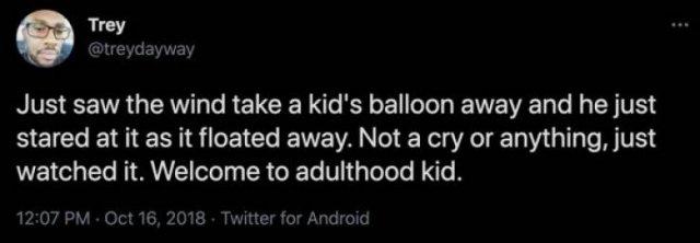 Adulthood Tweets, part 2