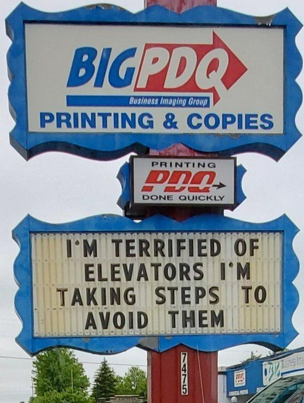 Odd Signs, part 2