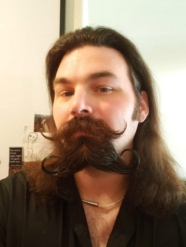 The New Double Mustache Trend