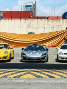 Smuggled Luxury Cars Were Publicly Destroyed By Philippines Government