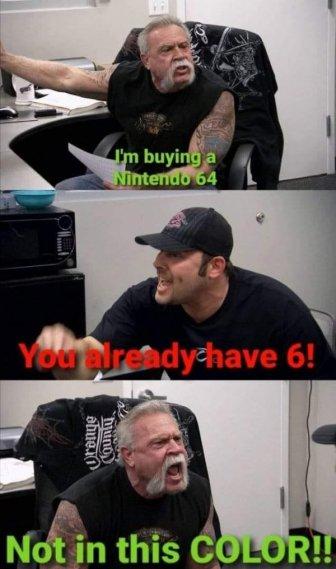 Nintendo 64 Memes