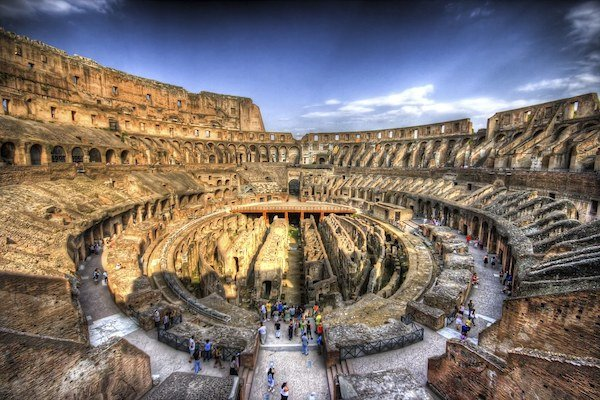 Roman Colosseum Opens Private Territories After Almost 2,000 Years