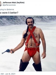 Internet Reacts To The Weird Swimsuit