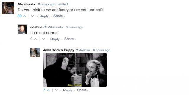 Sarcastic Comments, part 43