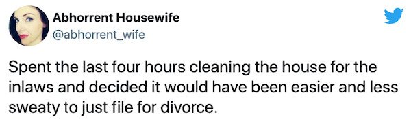 Marriage With In-Laws Tweets