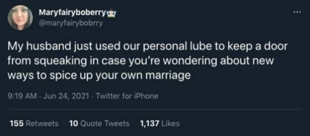 Married Life Tweets, part 7