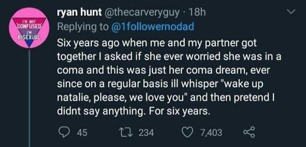 Married Life Tweets, part 8