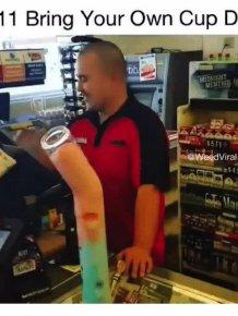 Free Slurpee Day In 7-Eleven