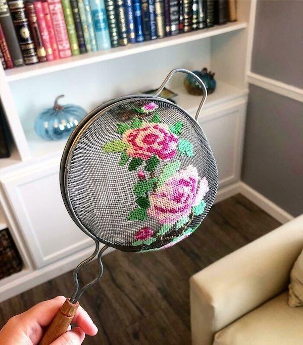 Amazing Cross-Stitching