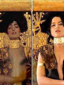 This Woman Recreates Famous Artworks