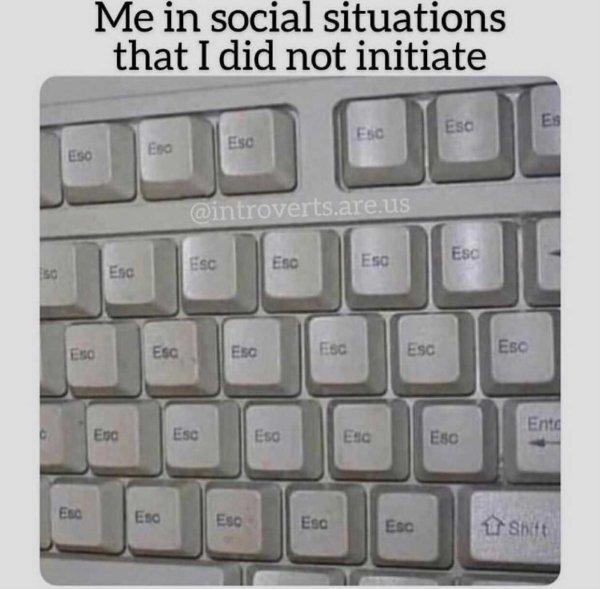 Introvert Memes, part 11