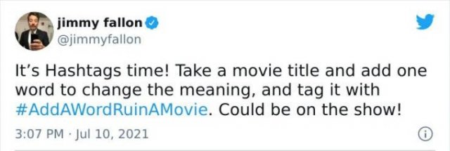 People Ruin A Movie With One Word