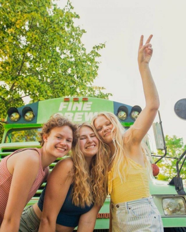 Three Girls Who Decided To Change Their Lives