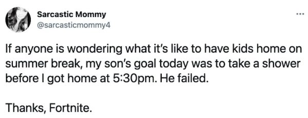 Parenting Tweets, part 11