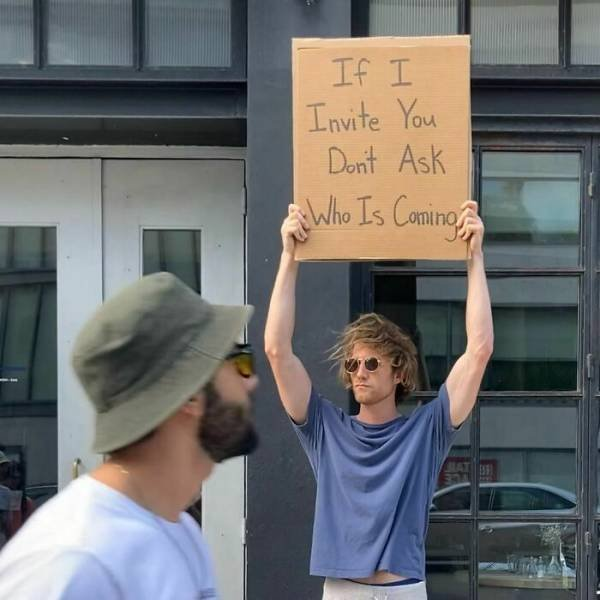 Dude With Signs