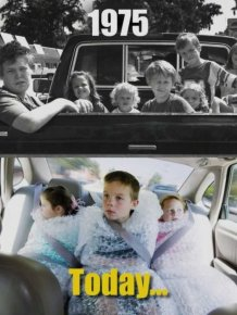 Childhood Then And Now