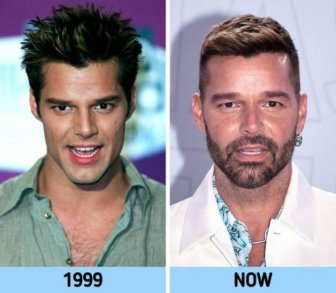 90's Celebrities: Then And Now
