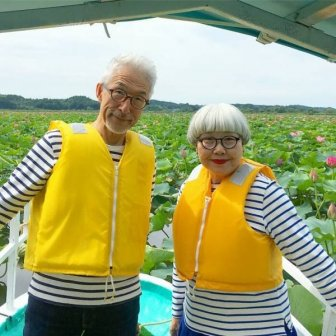 Lovely Couple From Japan Who Loves Wearing Matching Outfits