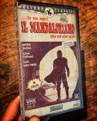 VHS Covers For Modern Movies