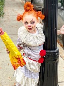 Horror Movies Cosplay By 7-Year-Old Girl
