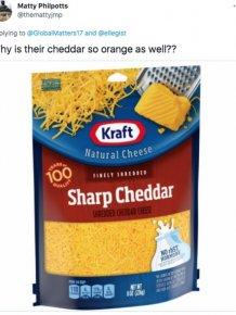 Americans And Brits: Cheese Debate
