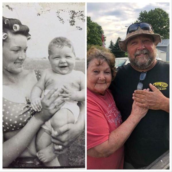 Family Photo Recreations