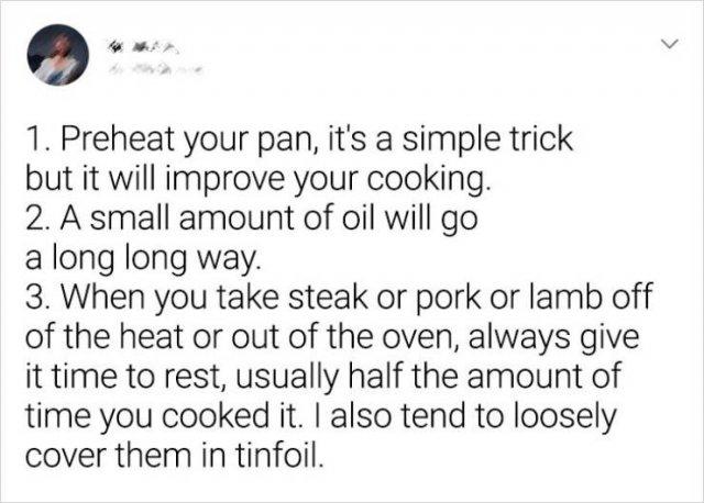 Cooking Hacks, part 2
