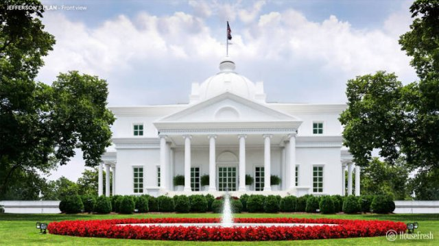 Rejected White House Design Plans