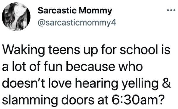Parents And Teenagers Tweets
