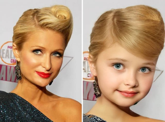 Celebrity Child Versions By AI
