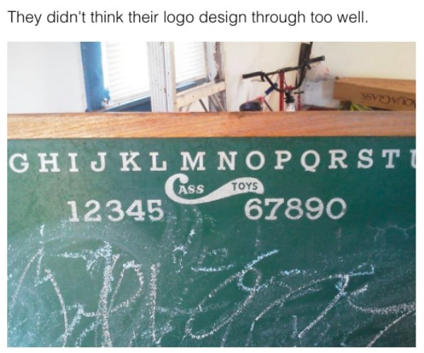 Something Wrong With These Logos