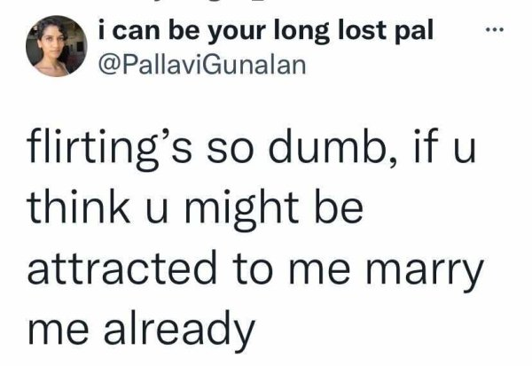 Single People Tweets