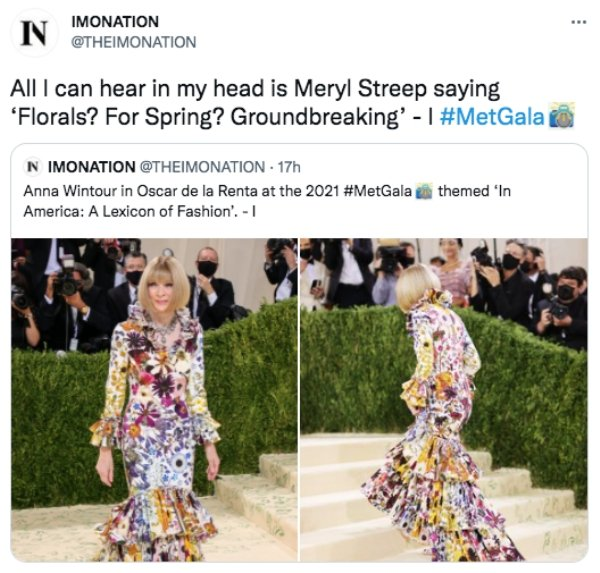 People Are Roasting Celebrity Met Gala Outfits