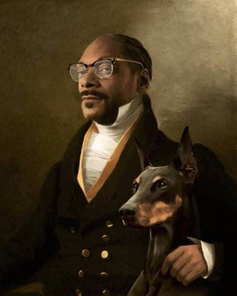 Modern Celebrities Were Placed Into Classical Paintings