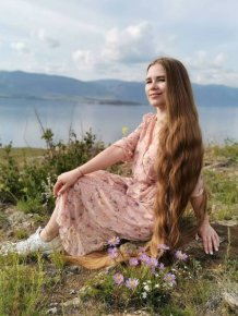 This Russian Woman Hasn't Cut Her Hair In 23 Years