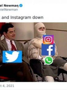 Facebook And Instagram Down Humor