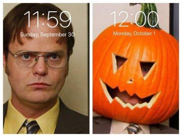 September 30th Vs. October 1st